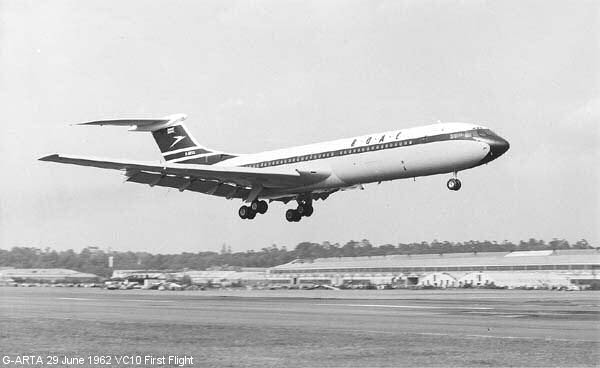 VC10 First Flight
